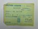 British Legion membership card; The Royal British Legion Press; 1967; LDMRD 0752.6