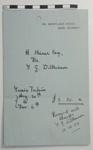 A receipt from M. G. Wilkinson ; M. G. Wilkinson; 1929; LDMRD 0682.8