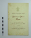 Menu; The Borough Council and The Richmond Chamber of Commerce; 1908; LDMRD 0085.5
