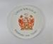 Porcelain plate; LDMRD 0837.4
