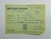 British Legion membership card; The Royal British Legion Press; 1964; LDMRD 0752.3