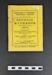 Kingston and District Football League - Official Handbook 1953-54; 1953; LDMRD 2015.139.2