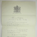 Warrant of Appointment for A. A. Chitty; Lord Chamberlain; 1937; LDMRD 0024.7