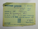 British Legion membership card; The Royal British Legion Press; 1965; LDMRD 0752.4