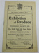 'The Third Annual Exhibition of Produce' Programme; 1919; LDMRD 0961.9