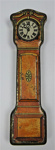 Chocolate tin the shape of a grandfather clock; LDMRD 0001.61