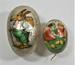 Paper mache easter eggs; LDMRD 0876.38