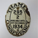 Plaque for the Thames Conservancy; 1934; LDMRD 0563