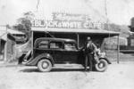 Photo - Mr Zgrajewski with Mr Plath's 1934 DK Dodge Six; 1934-1934; P-656-0
