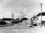 Photo - Eumundi looking south along Main Street c.1960; Murray Views; 1960-1960; P-1195-0