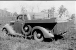 Photo - Langfeldt's Ford Utility c.1940; 1940-1940; P-1293-0