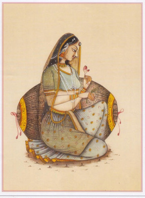 Princers Ponders - Indian Classic; Vladimir Kush; 15th century; RIT/ART/2016/01