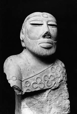 SCULPTURES FROM MOHENJO-DARO; 2500 BC to 1700 BC; India