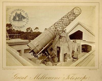 Great Melbourne Telescope, c. 1878