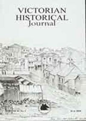 Victorian Historical Journal : 273 Volume 81 (1), 2010