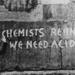 LSD related graffiti, Notting Hill Gate, London; Unknown; 1977