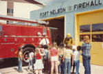Fire hall visit with a class ; FNPL2016.011.072