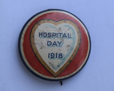 Hospital Day Badge; 1918; 3