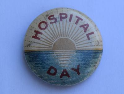 'Hospital Day', World War I Badge; 1914-1919; 2