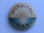 'Hospital Day', World War I Badge; 1914-1919; 2