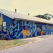 Hut murals from the 1980's painted by David Humphies-Public Art Squad; David Humphries; 1980's; 20