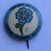 Forget-me-not- Cripple Children's Society Badge; 5