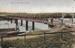 Postcard of River Boats under the The Murray Bridge, 16 Nov 1917.; Unknown; 16 Nov 1917; MB/PCD 00161