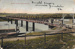 Postcard of River Boats under the Murray Bridge, sent to USA, c 1917.; Unknown; c 1917; MB/PCD 00162