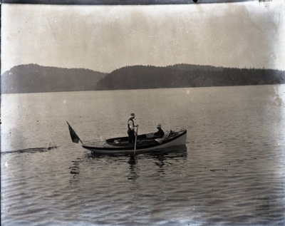 Photograph - Boat in Miner's Bay.  ; Aitken, John; 2017.1.324