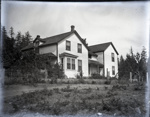 Photograph - House with inset bay porch and two gable rooves.; Aitken, John; 2017.1.254