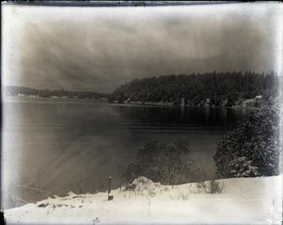 Photograph - Miner's Bay looking east.; Aitken, John; 2017.1.316