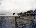 Plowed field - Moresby Island, looking towards Vancouver/Saltspring Island; Aitken, John; 2017.1.073