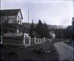 Mayne Island Store (Aitken's) with fence; Aitken, John; 2017.1.026