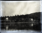 Photograph - Miner's Bay showing Mayne Island Store and Mayne Island Hotel.; Aitken, John; 2017.1.249