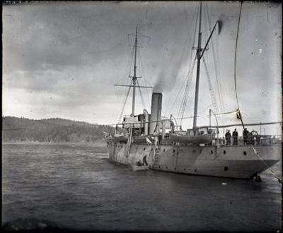 Photograph - Patrol boat.  .; Aitken, John; 2017.1.333