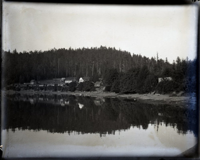 View of Miners Bay from the east; Aitken, John; 2017.1.036