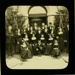 Lantern Slide - School Orchestra, Royal Victorian Institute for the Blind, circa 1900; MV.MM.95962