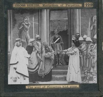 The Cross Series - partial set - slide 229/230; Limelight Department, Salvation Army, Melbourne, Australia; 1900-1908; HL.SA.00190