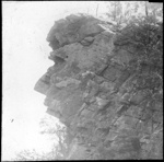 """""""Guardian of the Gap"""", Moolooloo, South Australia [1] lantern slide used by Rev. F.H. Paterson, north South Australia / [John Flynn?]; Flynn, John, 1880-1951; 1905-1920; HL.NL.16830158"""
