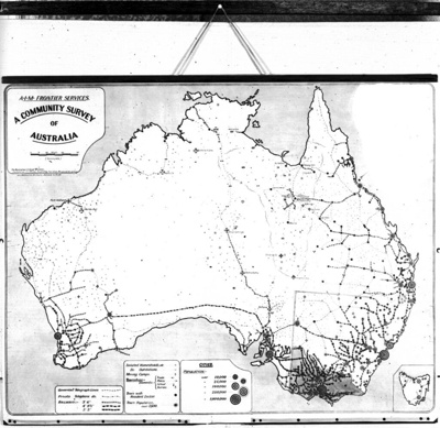 A community survey of Australia / A.I.M. Frontier Services; Australian Inland Mission Frontier Services; 1912-1955; HL.NL.17337745