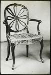 Lantern Slide - 'Adam Wheel-Back Chair', 1909-1930; 1909-1930; MV.MM.111677