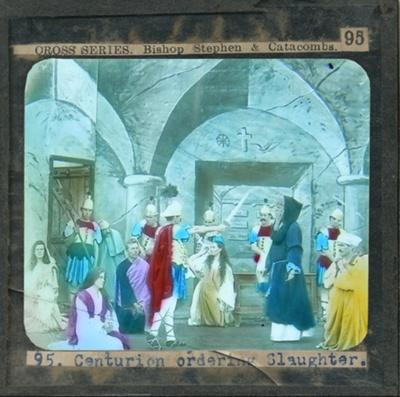 The Cross Series - partial set - slide 95/230; Limelight Department, Salvation Army, Melbourne, Australia; 1900-1908; HL.SA.00119