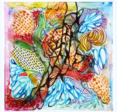 Untitled (Pattern); Contemporary artist; 2017; HL.MJ.00321