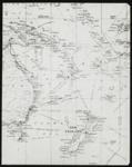 Lantern Slide - Map Showing New Zealand, New Caledonia, Fiji & Eastern Australia, circa 1920s; MV.MM.113734