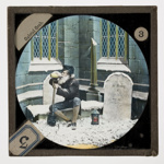 Lantern Slide - Bamforth & Co., 'Gabriel Grub', Late 19th Century; MV.MM.32039.3