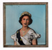 Lantern Slide - HRH Queen Elizabeth II, circa 1953; MV.MM.97460