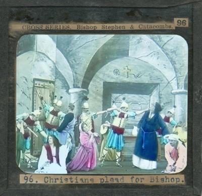 The Cross Series - partial set - slide 96/230; Limelight Department, Salvation Army, Melbourne, Australia; 1900-1908; HL.SA.00120