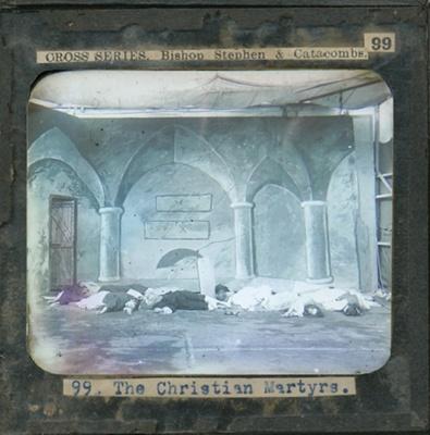The Cross Series - partial set - slide 99/230; Limelight Department, Salvation Army, Melbourne, Australia; 1900-1908; HL.SA.00123