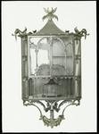 Lantern Slide - Chinese Chippendale Shelves, 1909-1930; 1909-1930; MV.MM.111660