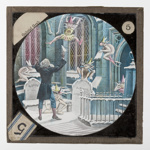 Lantern Slide - Bamforth & Co., 'Gabriel Grub', Late 19th Century; MV.MM.32039.5